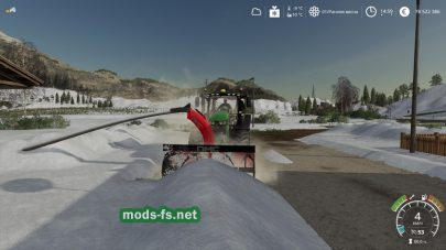 Снегоуборочная машина для Farming Simulator 2019