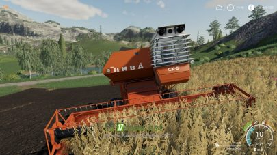 СК-5 Нива для Farming Simulator 2019