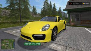 Мод на Porsche911
