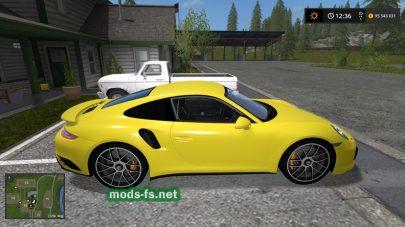Скриншот мода «Porsche911Turbo2018Future»