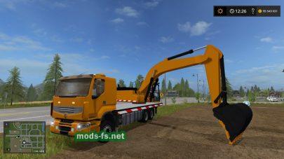 RENAULT TRUCK EXCAVATOR mod FS 17