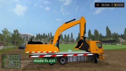 Экскаватор для Farming Simulator 2017