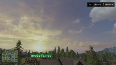 Изменение неба в Farming Simulator 2017