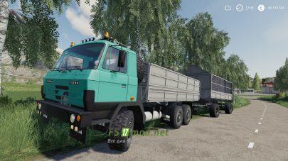 Мод на Tatra815Modra