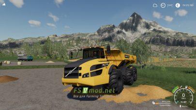 Volvo A40G для Farming Simulator 2019