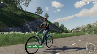 Daru(Bicycle) mod FS 19