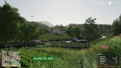 Ранчо в игре Farming Simulator 2019