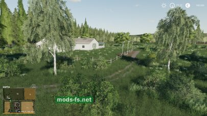 Русская природа в Farming Simulator 2019