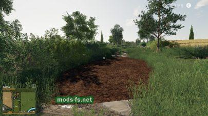 Карта с грязью для игры FS 2019