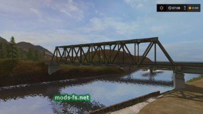 Мост на карте «The Old Stream Drossel»
