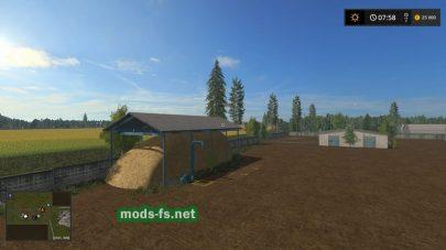 Хранилище для сена в игре FS 17