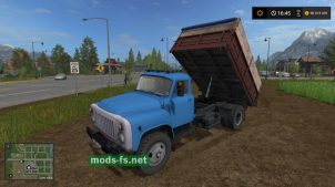 gaz-53 для Farming Simulator 2017