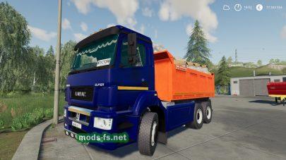 kamaz-6520 mod FS 2019