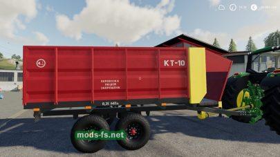 Мод кормораздатчика KT-10
