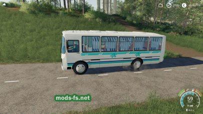 Мод на автобус ПАЗ