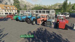 Мод на пак тракторов FS 2019