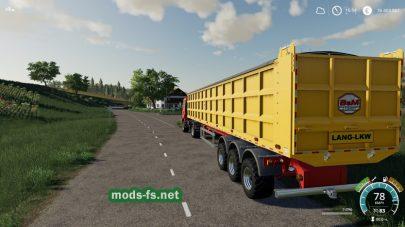 Мод на Semi-Tipper70000/6 для Farming Simulator 2019