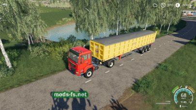 Semi-Tipper70000/6 для Farming Simulator 2019