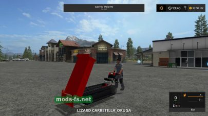 CarretillaOruga для игры Farming Simulator 2017