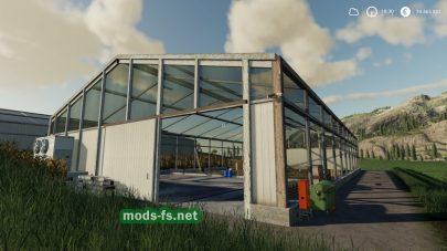 Big Chicken Coop (Placeable– 200 Chicken) для Farming Simulator 2019