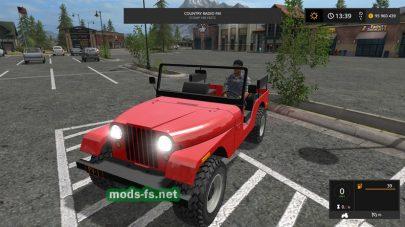 Легковой автомобиль JEEP для FS 17