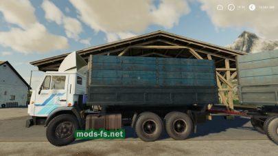 Камаз-5320и прицепНЕФАЗ-8560(AutoloadPack)