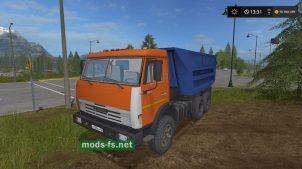 Мод на КамАЗ-55111