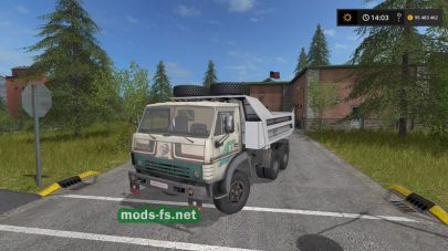 kamaz-5511 для Farming Simulator 2017