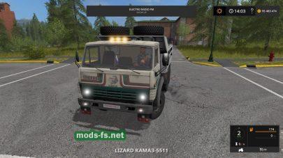 Мод на КамАЗ-5511