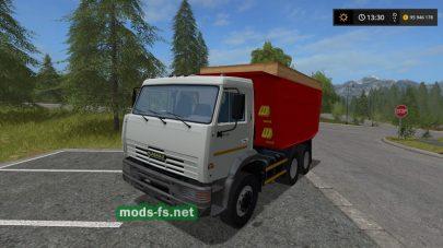 Скриншот мода kamaz-65115