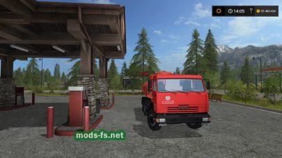 kamaz-65115 benzovoz