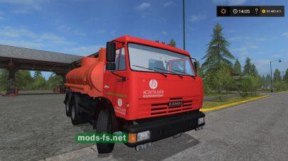 kamaz-65115 mod FS 2017