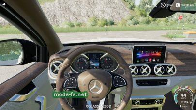 MercedesX-Class для FS 2019