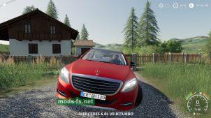 MercedesS63 для FS 2019
