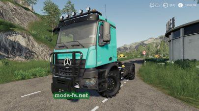 MercedesTrucksPack FS 19