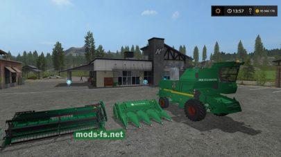 Нива СК-5M-1 для Farming Simulator 2017