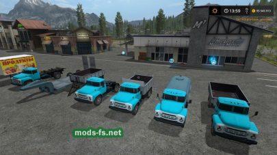 ЗИЛ для Farming Simulator 2017