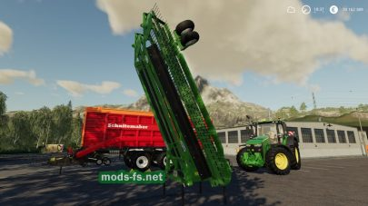 Rake Nadal R90 Telescopic Front для Farming Simulator 2019