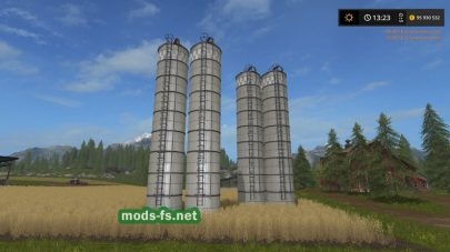 Silo Extension Large By BOB51160 для FS 2017