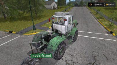 Мод на зеленый трактор Т-150К