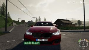 BMW 7 Series для Farming Simulator 2019