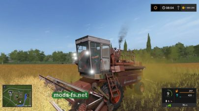 enisej 1200 для Farming Simulator 2017