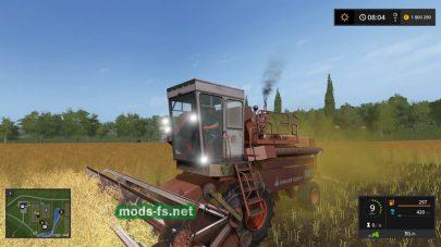 enisej 1200 для Farming Simulator 2017