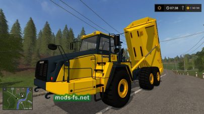 KomatsuHM400 для Farming Simulator 2017