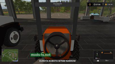 Мини трактор Kubota