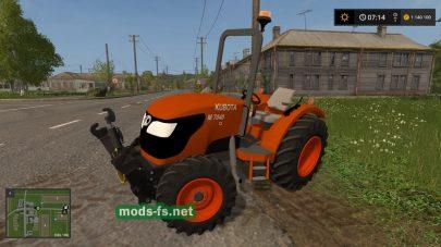 KubotaM7040 mod