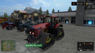 МТЗ3525 для игры Farming Simulator 2017