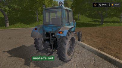 Мод на старый трактор МТЗ-80