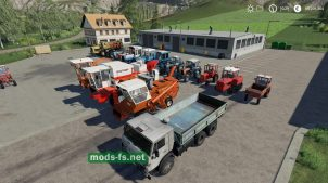 Russian Old School Farming Mods для FS 2019