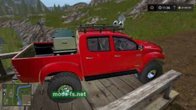 Скриншот мода Toyota Hilux Arctic